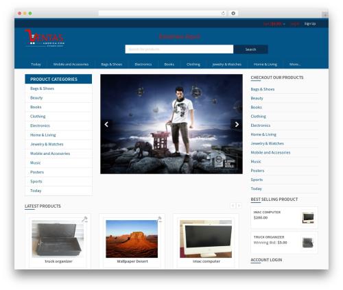 Dokan best WordPress template - ventasamerica.com