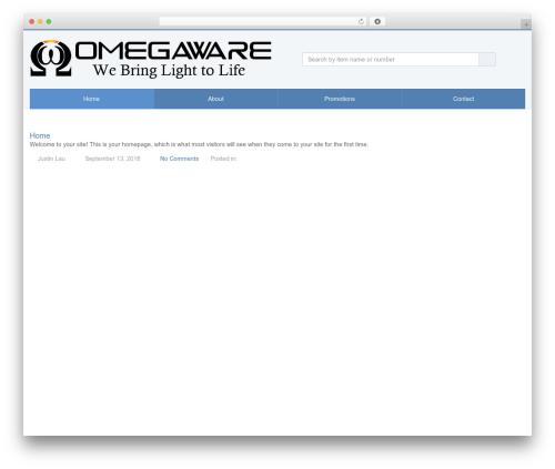 SalesZone best WordPress theme - omegaware.com