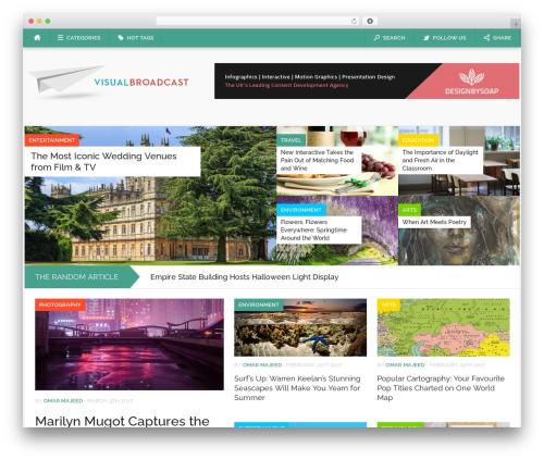 WordPress theme Codilight - visualbroadcast.com