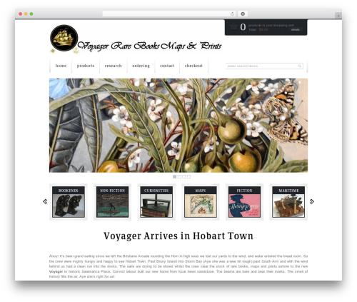 WordPress theme Mazine - voyagerhobart.com