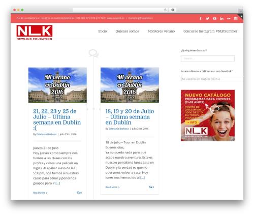 Avada WordPress blog template - newlink.es/blog/category/mi-verano-en-dublin-club-4