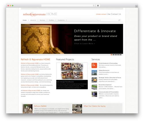 Best WordPress theme Agivee - refreshrejuvenatehome.com