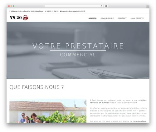 Frover Progression WordPress theme - vs20.fr
