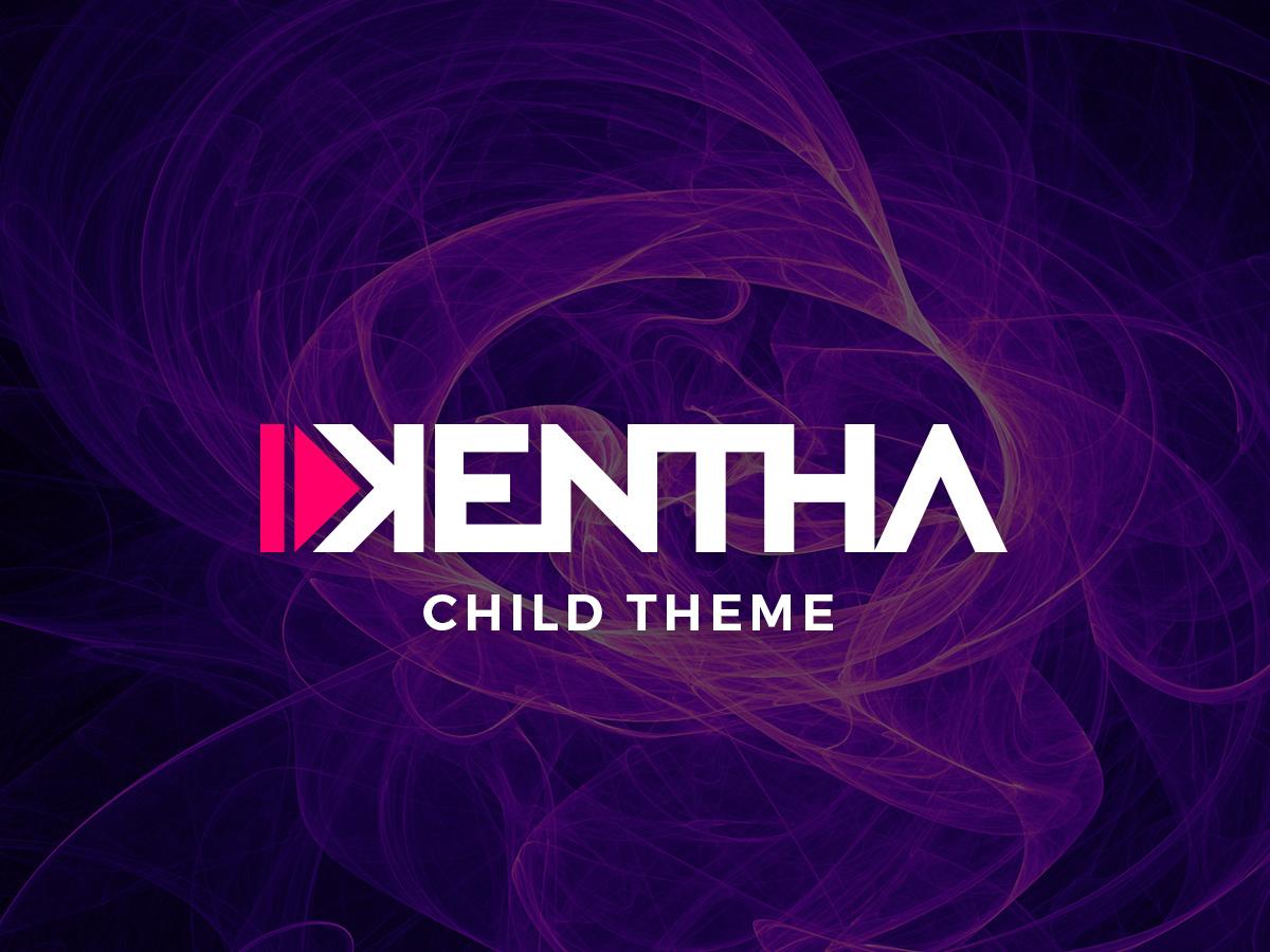 Kentha Child best WordPress theme