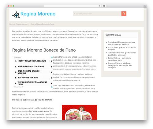 SociallyViral by MyThemeShop WordPress theme - olhao.com.br/regina-moreno/regina-moreno-boneca-de-pano/?utm_source=reginamoreno_redirect&utm_medium=reginamoreno&utm_campaign=301reginamoreno