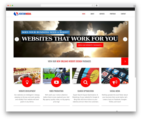 Subway WordPress video theme - vekmedia.com