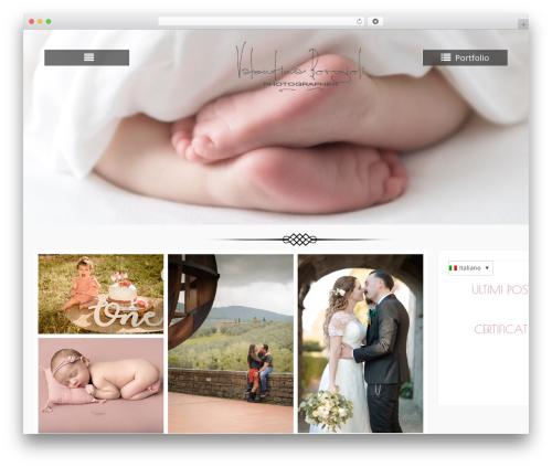Free WordPress WP Page Templates plugin - valentinaborgioli.com