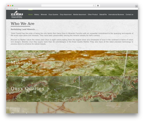Best WordPress theme Avada - zehrionyx.com