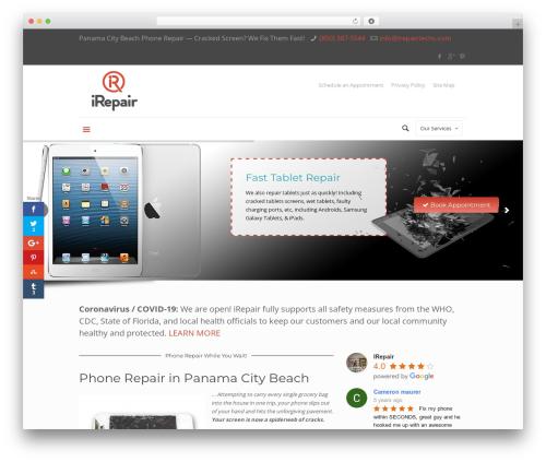Betheme WordPress website template - irepairtechs.com