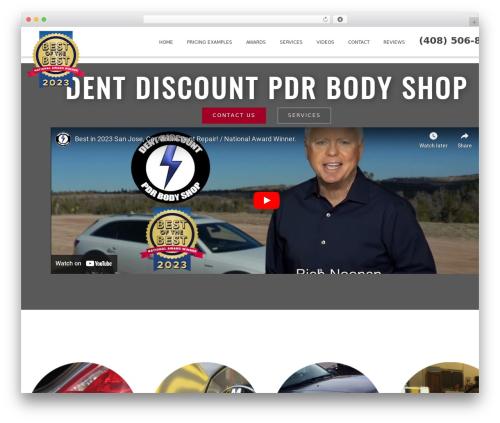 Blended WordPress theme - dentdiscountmobileandbodyshop.com