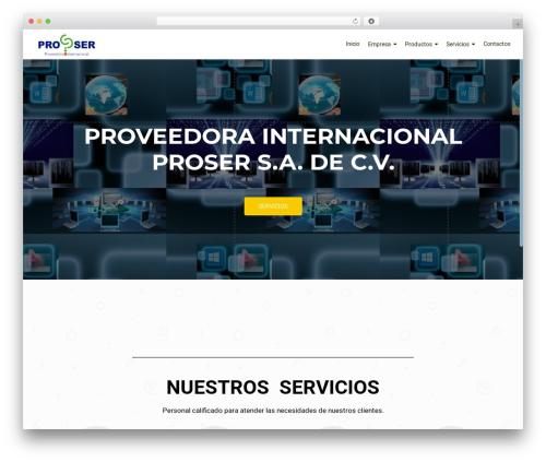 OnePirate WordPress template free download - proserinternacional.com