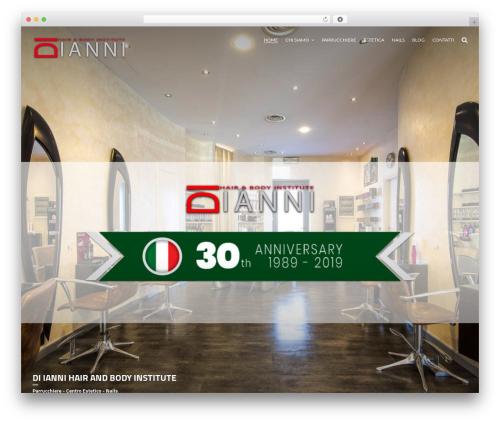 Johnblack WordPress theme - diianni.com