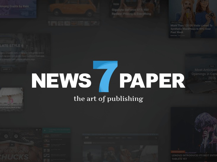 Newspaper newspaper WordPress theme