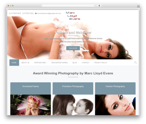 PremierPro WordPress wedding theme - marclloydevans.com