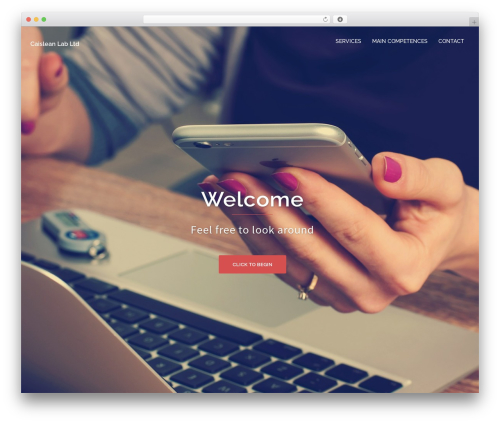 Sydney best free WordPress theme - caisleanlab.com