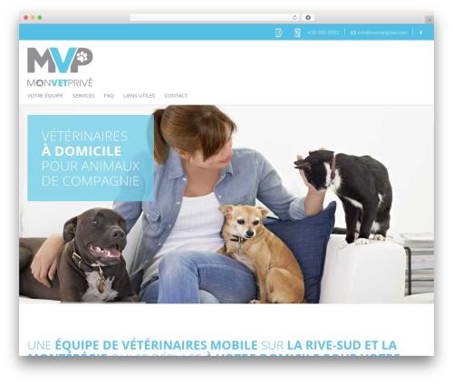 WordPress theme Agence Oz Demo - veterinairemobileadomicile.com