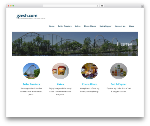 Ascension WordPress theme - gzesh.com