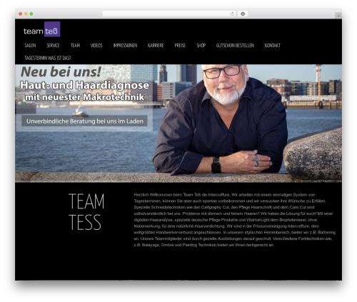WordPress theme blackair - friseur-stuempel.de