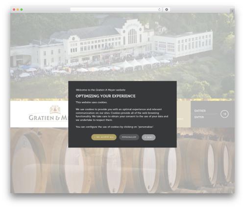 WordPress theme Theme Atmosphère - gratienmeyer.com