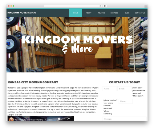 cherry WordPress template for business - kingdommoverskc.com