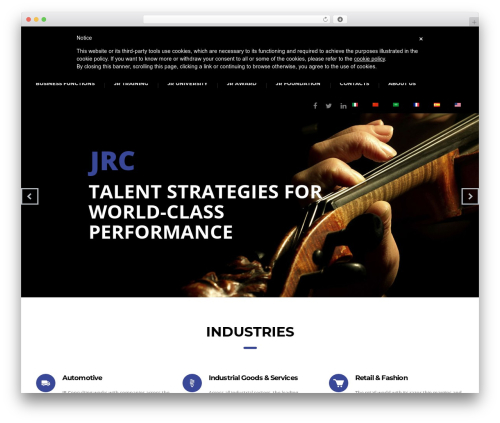 WordPress aero-hover-effects plugin - consulting-jr.com