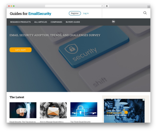 Guides for CRM Wordpress Theme company WordPress theme - guidesforemailsecurity.com