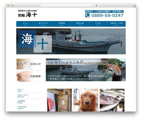 LP_Designer_2CR_Biz_v2.0 WP theme - tsuri-kaito.com