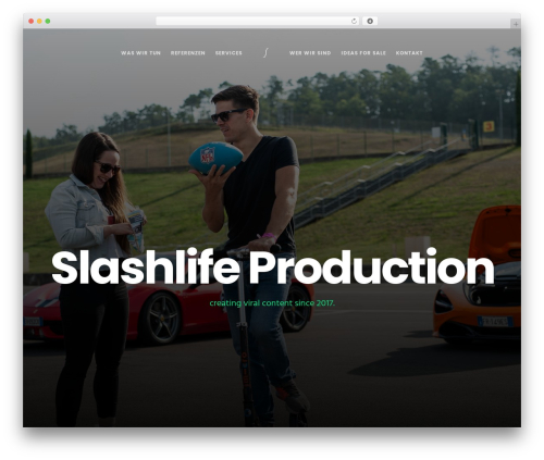 Movedo template WordPress - slashlife.at