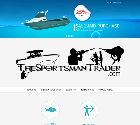TheSportsManTrader WordPress theme design