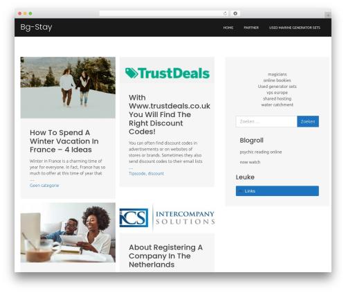 WordPress theme Boston Business - bg-stay.com