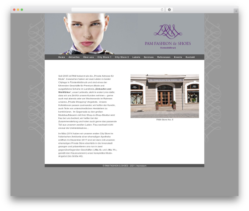 Ambiru fashion WordPress theme - ti-consulting.biz