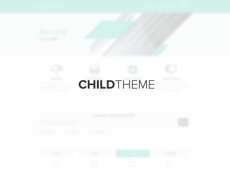 ecohost-child best WordPress template