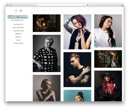 ePix WordPress website template - timokeranen.com