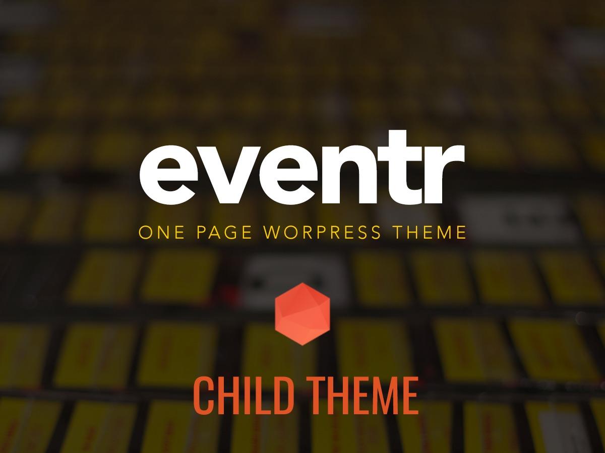 Eventr Child Theme WP theme