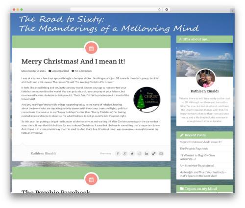 Keilir by Bluth Company WordPress theme - theroadtosixty.com