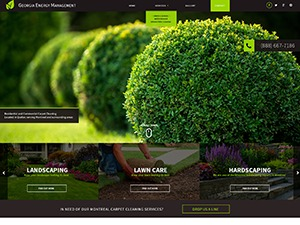 Land 3 -V8 WordPress theme design