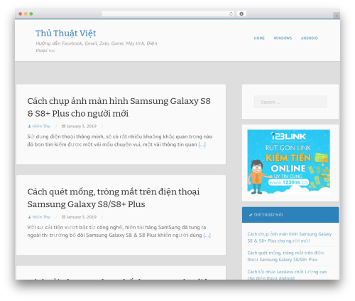 Mixr WordPress template free - thuthuatviet.net