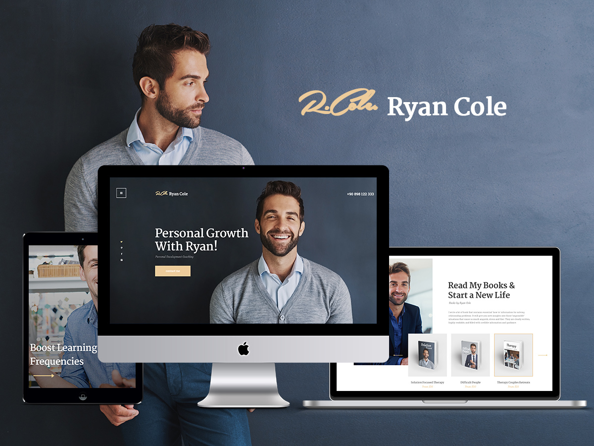 RyanCole WordPress blog template