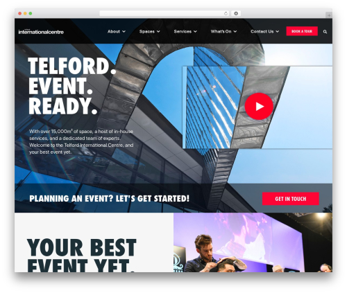 tic WordPress theme - theinternationalcentretelford.com