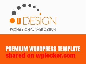 U-Design (Shared on www.MafiaShare.net) WordPress theme