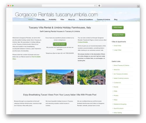Free WordPress WP Customer Reviews plugin - tuscanyumbria.com