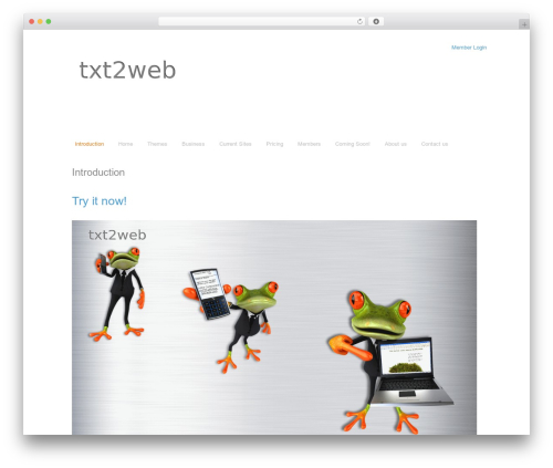 Free WordPress Slick Sitemap plugin - txt2web.com