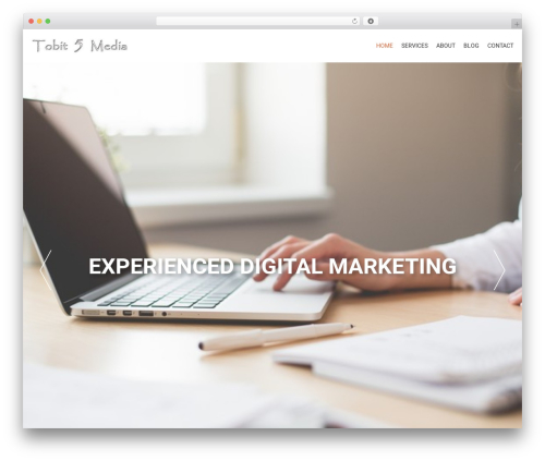 AccessPress Parallax WordPress theme - tobit5media.com