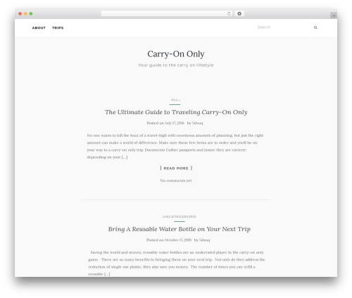 Activello WordPress theme free download - carry-ononly.com