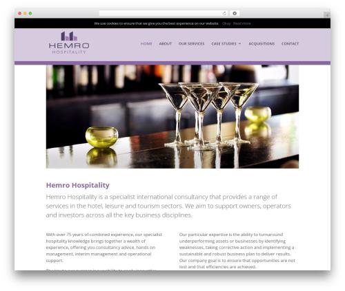 Divi WP theme - hemro.com