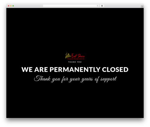 EXO Theme massage WordPress theme - eastshoretherapeuticmassagecenter.com