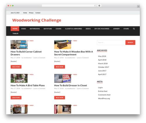 HitMag WordPress theme download - woodworkingchallenge.com