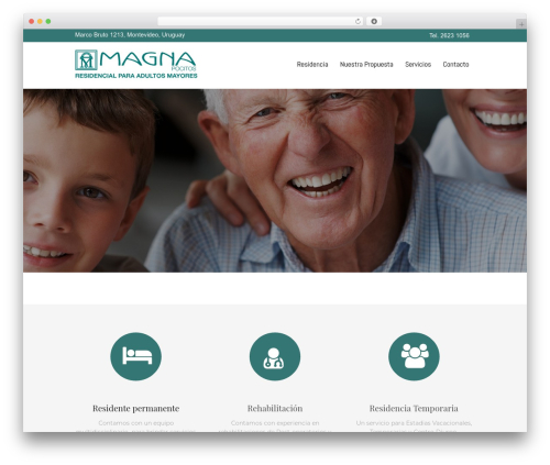Senior 1.1.2 theme WordPress - residencialmagna.com