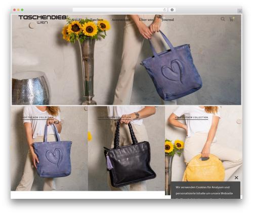 Supro theme WordPress - taschendieb-wien.com
