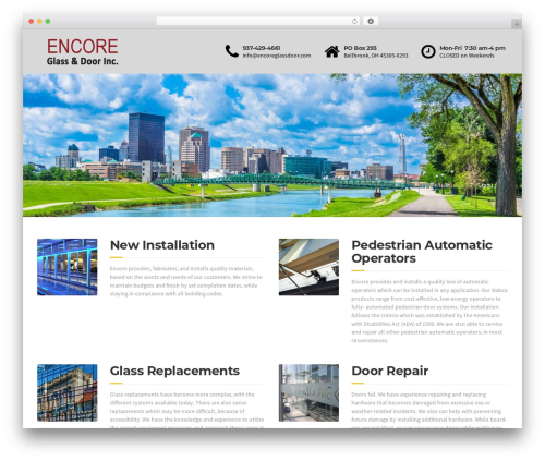 Template WordPress BuildPress - encoreglassdoor.com